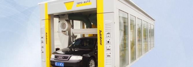 TEPO-AUTO automatic car washing machine, car wash construction
