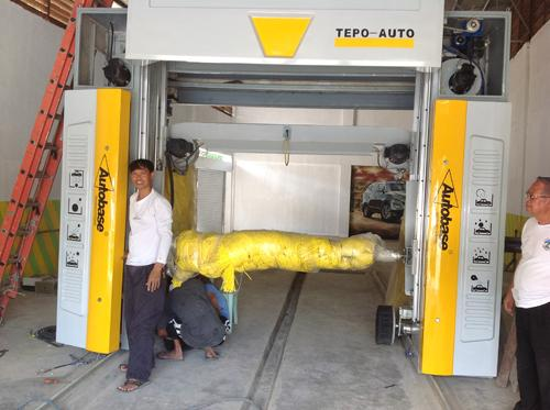 Perfect performance fully automatic car washing machine TEPO-AUTO-TP-901