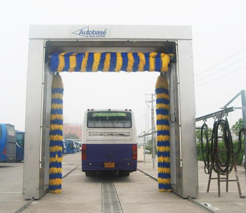 AUTOBASE - AB -120 Car Wash Tunnel Equipment , Vehicle Washing Systems with germany brush