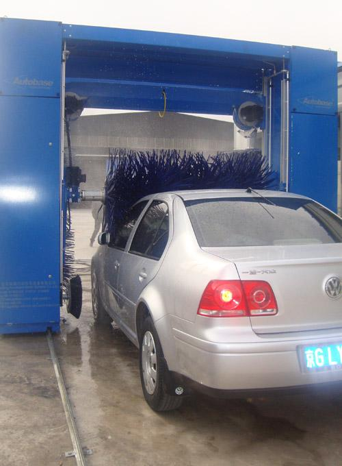 PE Materials Automatic Rollover Car Wash Machine TOPTECH-WF-51