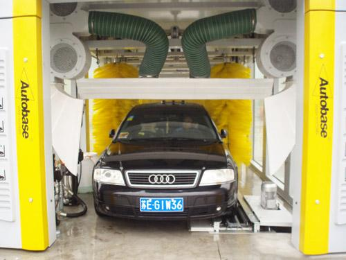 Swing arm design car wash systems tepo-auto tp-901 tunnel type car wash