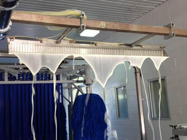 Tunnel car wash machine AUTOBASE-AB-91
