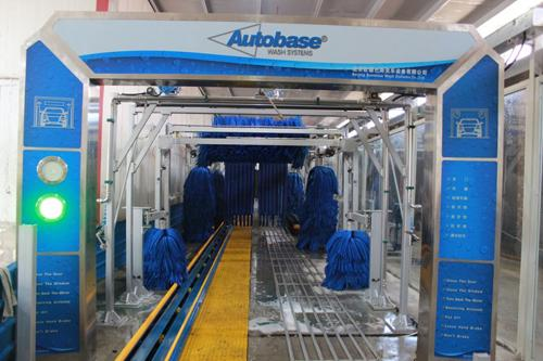 Professional Car Wash System , Autobase Tunnel Car Wash Machine