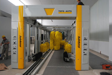 China TEPO - AUTO Tunnel Car Wash System supplier