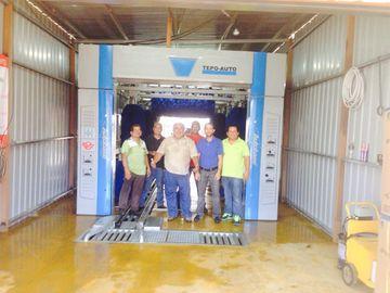 China TEPO-AUTO tunnel car wash equipment supplier