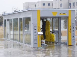 China High Effectively Protected Tunnel Car Wash Equipment Comfort And Stability supplier
