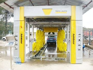 China Automatic  Car Wash System & TEPO-AUTO car wash machine own many patented technologies supplier
