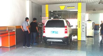 China Bus Express Car Wash Tunnel AUTOBASE , commercial automated car wash systems supplier