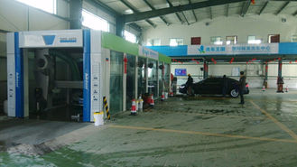 China Fast Conveynor Express Car Wash Tunnel / Automatic Car Wash System TP -1201 supplier