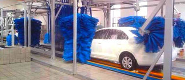 China AUTOBASE - AB -120 Car Wash Tunnel Equipment , Vehicle Washing Systems with germany brush supplier