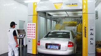 China Professional TEPO-AUTO-TP-901 automated car wash systems wash under 2.1 meters supplier