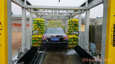 China Automatic tunnel car washing machine TEPO-AUTO TP-1201 -1with wipe system supplier