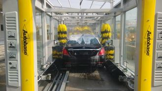 China CE / ISO9001 Express Car Wash Tunnel With Tepo Auto Upgrade Technology supplier