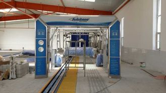 China AUTOBASE automated car wash systems , AB -80 tunnel express car wash supplier