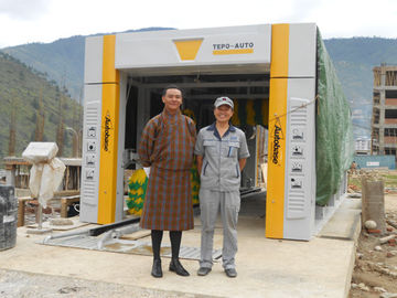 China Automated Express Express Car Wash Tunnel Systems Used By Many Small Scale Car supplier