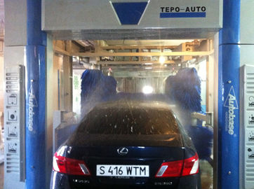 China Automatic Car Wash Tunnel Systems TEPO-AUTO-TP-1201-1 quick cleaning speed supplier
