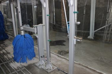 China 3mm Steel Car Wash System Anti-Corrosion Safe With Low Noise supplier