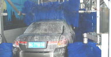 China AUTOBASE automated car wash tunnel systems innovative mode easier to use supplier