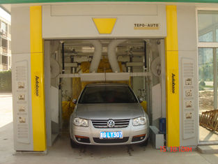 China Automatic tunnel car wash equipment TEPO-AUTO TP-701 supplier