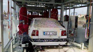 China Tunnel Automatic Car Wash Equipment With Pneumatic Control System supplier