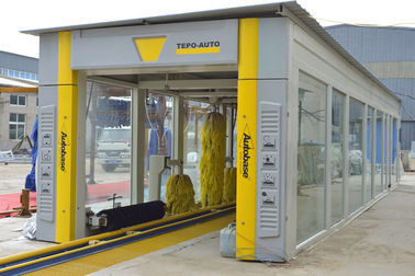 China Upgrade brush Automatic tunnel car wash equipment TEPO-AUTO TP-1201 supplier