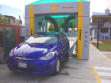 China Electric Reliable Car Washing Machine , High Speed Tunnel Car Washer supplier