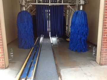China Autobase Hydraulic Tunnel Car Wash System With 18 to 30 Meters Cleaning Scope supplier