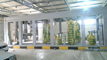 China Hot Galvanized Steel Tunnel Car Wash System Profession For Washing Vehicles supplier