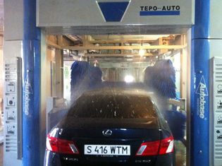 China Professional Convenient Car Wash Machine With Washing 60 - 80 Cars Per Hour supplier