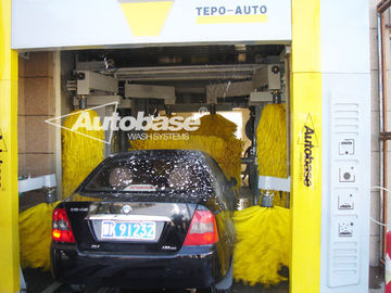 China TEPO-AUTO TUNNEL CAR WASH with high speed washing 60-80 cars per hour supplier
