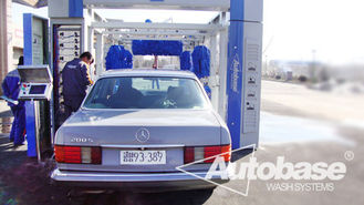 China tepo-auto tunnel car wash machine & International Approvals supplier