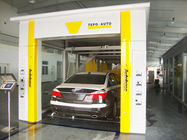 China Yellow Tunnel Car Washing Equipment Effectively , High Pressure Spray Systems factory