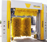China Energy-saving Car Wash System TEPO-AUTO With Yellow Big-Diameter Wheel Brush factory