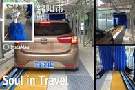 China Autobase Tunnel Car Wash System Effective Comfortable For Wrap Cleaning factory