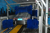 China Autobase Car Wash Equipment With Hydraulic And Wheel Brush factory