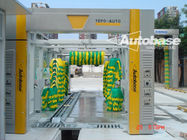 Tunnel car wash machine with 10-18 meters long exporters