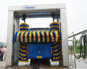 Rollver bus wash machine