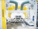 China New TEPO-AUTO tunnel car wash systme equipped with automatic horizontal wheel brush system factory