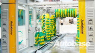 China Car wash equipment with three drying blower fans, rollover wash systems factory