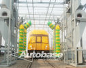 China Automatic train wash machine factory