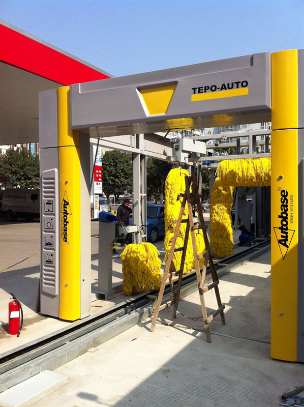 Plc Tepo Auto Tunnel Car Wash System Energy Saving With