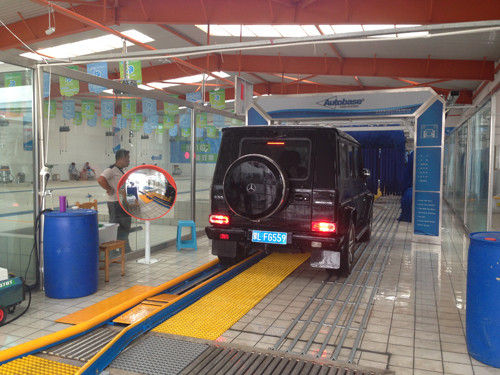 Tunnel car wash equipment with germany brush for sale car wash