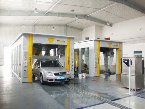 automatic tunnel car wash system with germany brush. Black Bedroom Furniture Sets. Home Design Ideas