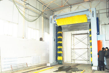 Bus and Truck Wash Machine System
