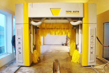 Yellow Brushed TEPO-AUTO Car Washer Stainless With CE And ISO9001