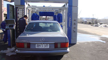 Tunnel car wash systems solution with soft car wash brush TP-701