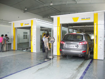 China benz car wash machine in autobase factory