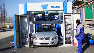 China Automatic Tunnel Car Wash System TEPO-AIUTO factory