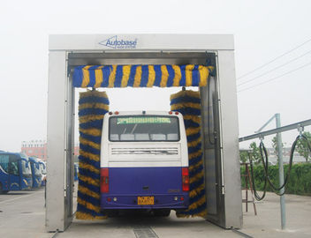 Rollver bus wash systems