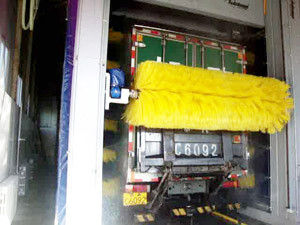 Automatic bus wash systems, TEPO-AUTO bus & truck washing
